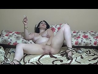Masturbating by my gold wristwatches and smoking all the time
