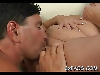 Great sex with chubby slut