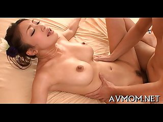 three boys and one horny asian slut