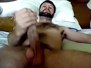 Beautiful men with huge monster cock jerking off