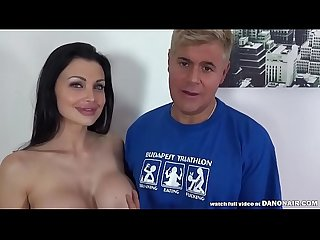 ALETTA OCEAN FUCKED by PORNO DAN & the CAMERAMAN!