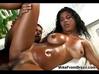 Big tits latina fucking