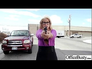 Big Round Tits Girl (bridgette b) Get Hard Banged In Office movie-07
