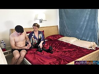 Stepmom fucks stepson after husband dies erin electra