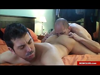 Hung latino dude barebacking