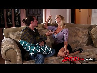 Hot milf alexis fawx hammered hard