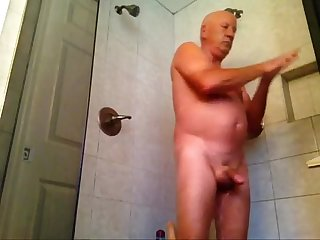 Enjoying my shower part 1