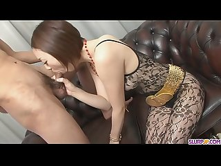 Rina yuuki is an asian chick that craves for man meat more at slurpjp period com