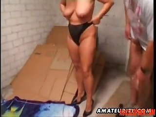 Mature amateur wife homemade anal with facial cumshot pain abuserporn com