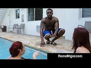 Big Bootied Betty Bang & Curvy Virgo Peridot Get Rome's BBC!