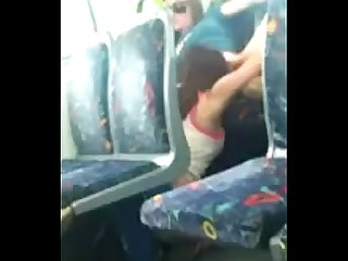 Horny Lesbians On The Bus
