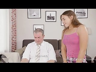 Tricky Old Teacher - Teacher gives sexy student private sex lesson