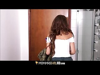 Milf mindi mink caught mastubating by step daughter carmen caliente