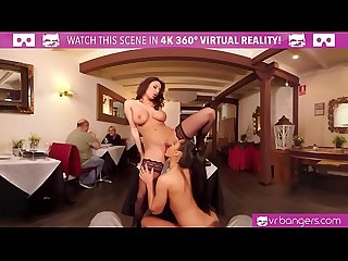 Vrbangers com public sex with two babes in caffe