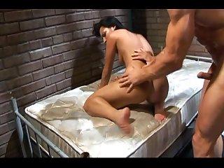 Slut fucked in ass in prison