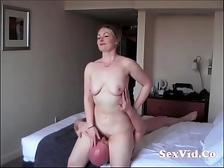 British wife cheating in a hotel (new)