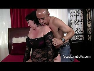 Chubby brunette milf cant get enough cock