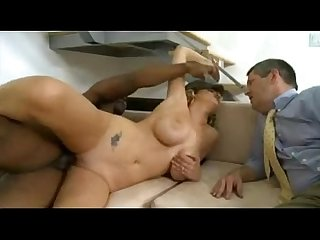 Cuckold hubby watching wife fucked by bbc