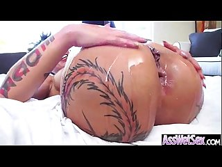 Anal sex tape with wet oiled big ass superb girl bella bellz mov 06