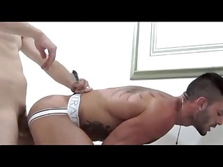 Handsome brazilian guy get fucked