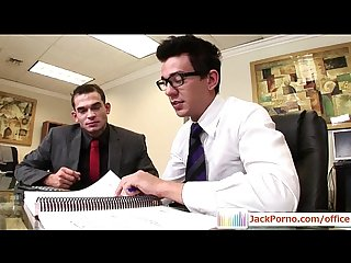Office cock gay Gays fucked in the office Video13