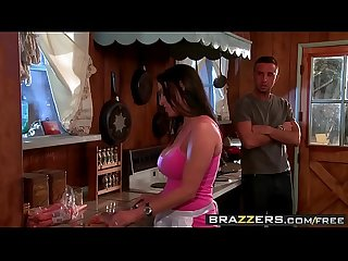 Brazzers - Mommy Got Boobs - Have A Slice Of My Poon-Tang Pie scene starring Vanilla Deville and Ke