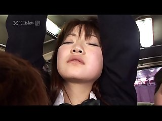 41ticket yayoi yoshino caught in bus gangbang uncensored jav