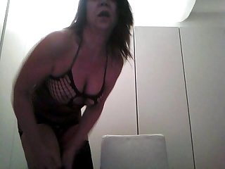 Mature play whit Web cam