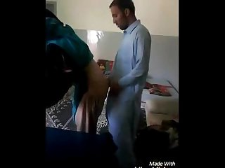Pakistani bhavi and neighour quick masti in bedroom wowmoyback