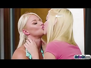 Kenna pussy licked and gets facesitted by her busty stepmom