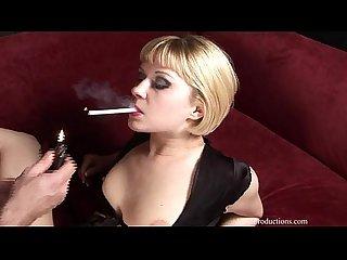Aaralyn Barra - Smoking Fetish at Dragginladies