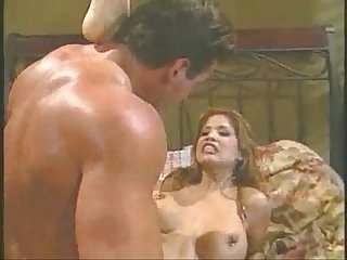 Alexis amore sucks cock then gets titty