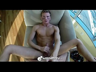 HD MenPOV - Sporty hunk get fucked by his workout partner