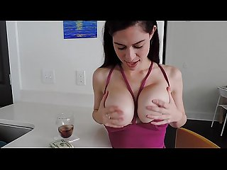 Girl plays with massive boobs more videos on mycamgirls period webcam
