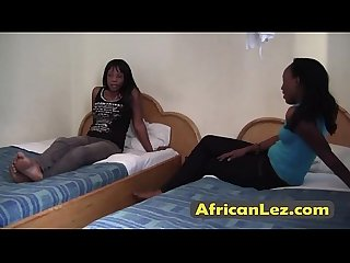 Omg these african beauties love licking pussy must see