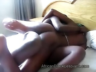 Big booty black lezzie pleased by hoce-strapon-dildo-4