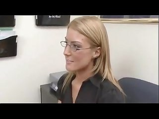 Job interview turns to lesbian sex