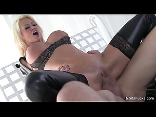 Nikita von james fucks