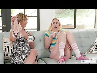 MOMMY'S GIRL - My Mom's older friend lick my pussy! - Cherie DeVille and Chloe Cherry