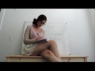 Sexy Web cam girl teacher live on livecamgirls69 online