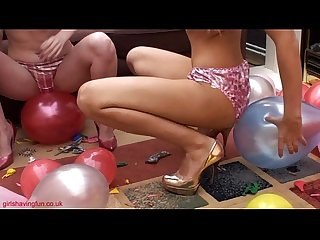 balloon-fun-topless-girls