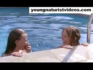 very hot nudist teens vintage movie