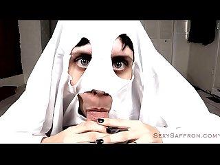 Spooky ghost Blowjob