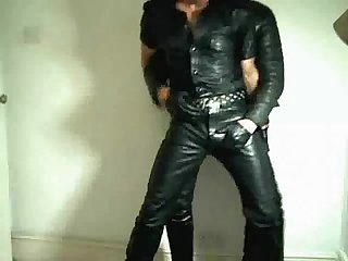 Gay 2 men full leather
