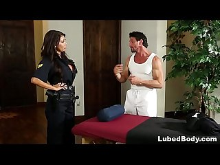 Lonely policewoman finally gets what she needs august taylor and tommy gunn