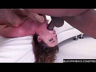 Rico strong fucks this racist whore�s throat relentlessly