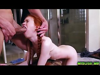 Omg excl redhead teen dolly little brutally fucked excl