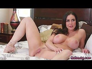 Lena s hand on kendra s wet pussy