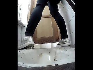 Girls don t know hidden cam in toilet