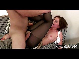 Man bangs ass of gal